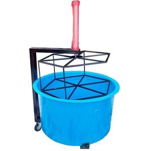 Ванна для проверки колес с пневмоприводом (из стеклопластика) POLARUS VG-P