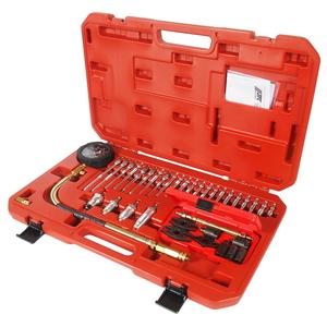 Компрессометр для дизельных двигателей с адаптерами 37 предметов JTC-4302