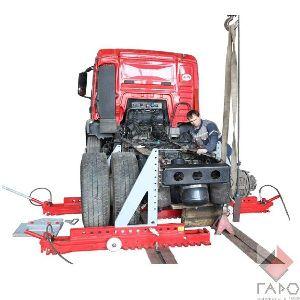 Стапель для кузовного ремонта грузовых автомобилей SIVER T